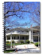 Nevada Governors Residence Spiral Notebook