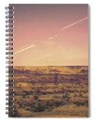 Nevada Usa Valley Of Fire  Spiral Notebook