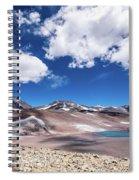 Nevado Ojos Del Salado And Laguna Negra Spiral Notebook