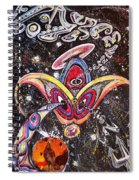 Never Lonely' Spiral Notebook
