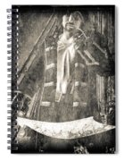 Never Neverland Captain Hook Spiral Notebook