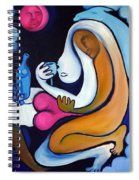Never Tear Us Apart Spiral Notebook