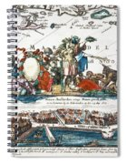 New Amsterdam, 1673 Spiral Notebook