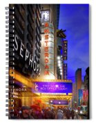 New Amsterdam Theatre Spiral Notebook