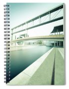 New Berlin Architecture - The Government District Spiral Notebook