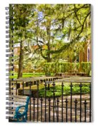 New Bern Street Scene Spiral Notebook