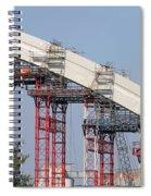 New Bridge Concrete Arc Construction Site Spiral Notebook