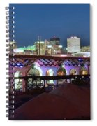 New Bridge Pano Spiral Notebook