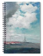 New Brighton From The Mersey Spiral Notebook