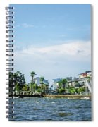 New Canal Lighthouse And Lakefront - Nola Spiral Notebook