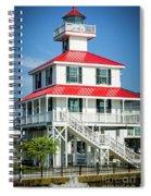 New Canal Lighthouse - Nola Spiral Notebook