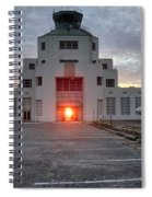 New Dawn For An Old Airport Spiral Notebook