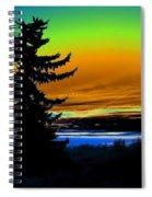 New Dawn In Spokane Spiral Notebook