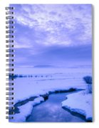 New Day At New Meadows Spiral Notebook