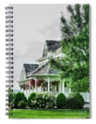 New England Beauty Spiral Notebook