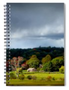 New England Countryside  Spiral Notebook