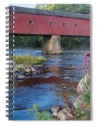 New England Covered Bridge Connecticut Spiral Notebook