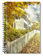 New England Fall Foliage Pencil Spiral Notebook