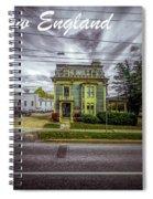 New England Home 3  Spiral Notebook