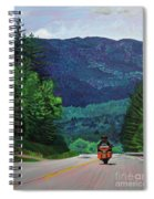 New England Journeys - Motorcycle 2 Spiral Notebook