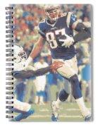 New England Patriots Rob Gronkowski 3 Spiral Notebook