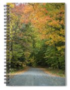New England Road Spiral Notebook