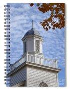 New England Steeple - Ridgefield, Connecticut Spiral Notebook
