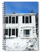 New England Winter Spiral Notebook