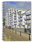 New Flats Overlooking Sandown Esplanade Spiral Notebook