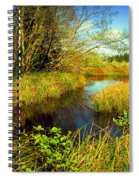 New Growth At The Pond Spiral Notebook