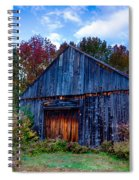 New Hampshire Barn Eaton Nh Spiral Notebook