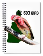 New Hampshire State Bird The Purple Finch Spiral Notebook