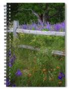 New Hampshire Wildflowers Spiral Notebook