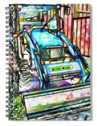 New Holland Workmaster 75 Tractor  2 Spiral Notebook