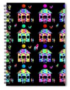 New Home America Spiral Notebook