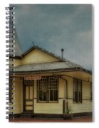 New Hope Train Station Spiral Notebook