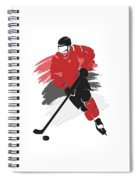 New Jersey Devils Player Shirt Spiral Notebook