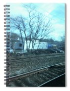 New Jersey From The Train 4 Spiral Notebook