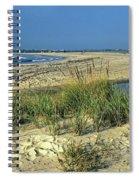 New Jersey Inlet  Spiral Notebook