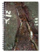 New Jersey New York State Line Of The Appalachian Trail Spiral Notebook