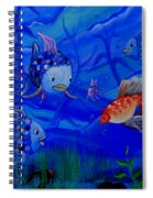 New Kid In Town Spiral Notebook