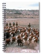 New Mexico Cattle Drive Spiral Notebook