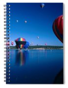 New Mexico Hot Air Balloons Spiral Notebook