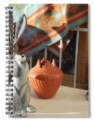 New Mexico Rabbits Spiral Notebook