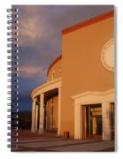 New Mexico State Capital Building Spiral Notebook