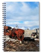 New Mexico Tractor Spiral Notebook