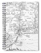 New Netherlands 1656 Spiral Notebook