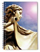 New Orleans Angel Spiral Notebook