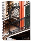 New Orleans Balcony Spiral Notebook