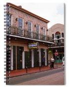 New Orleans Bourbon Street 2004 #43 Spiral Notebook